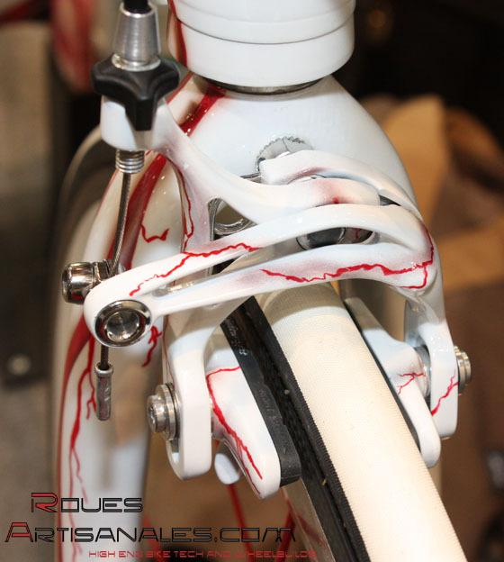 KinLin XR 200 Niobium Alliage Pneu Rouge 700 C X 22 Mm Deep Vélo Jante