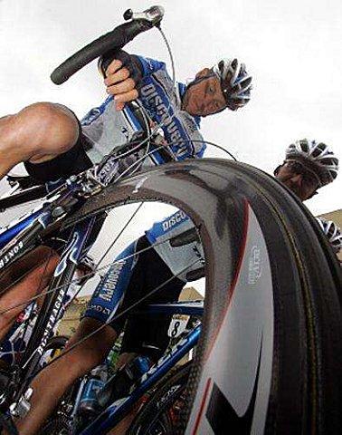 Roue Avant Velo Route Pro- Bontrager Trek RACE X LITE TLR